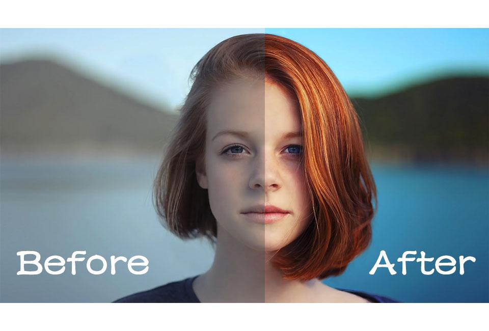 《教程:如何在Photoshop中调出流行色》