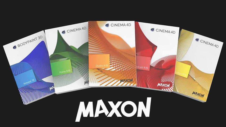 《Mac软件:MAXON Cinema 4D R19_三维软件》