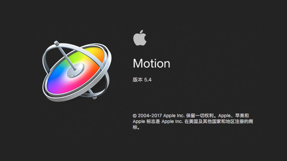 《Mac软件:Apple Motion v5.4_视频编辑&运行图形工具》