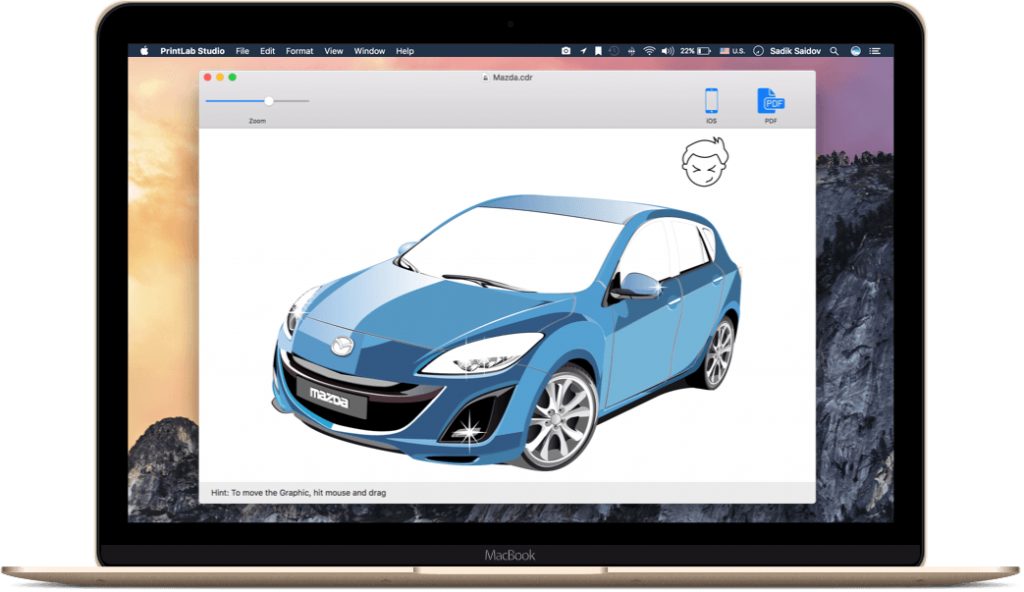 《Mac软件:CDRViewer Pro v2.2_在Mac系统快速打开CDR文件并另存为分层PDF》