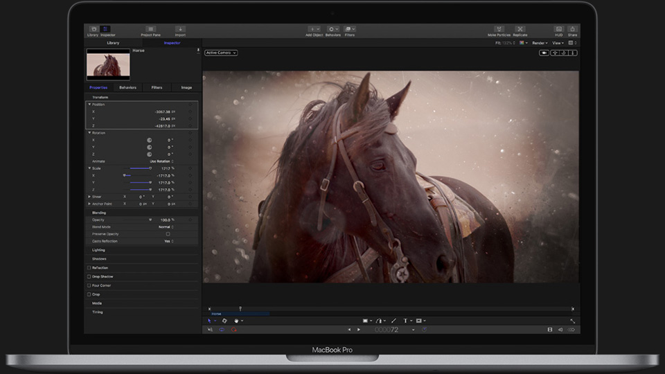 《Mac软件:Apple Motion 5.4.4_运动图形软件》