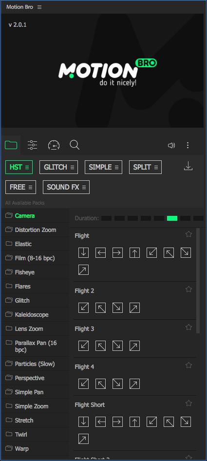 《AE脚本:Handy Seamless Transitions V5.1_1500+超级无敌无缝转场包(Motion Bro)》