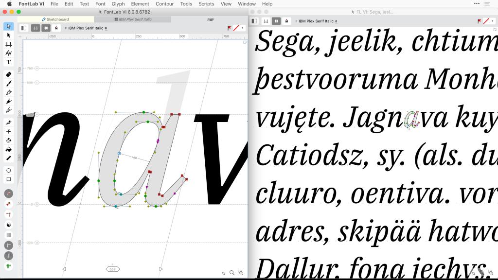 《FontLab VI v6.1.1.6879_超酷的字体编辑软件_Win&Mac》