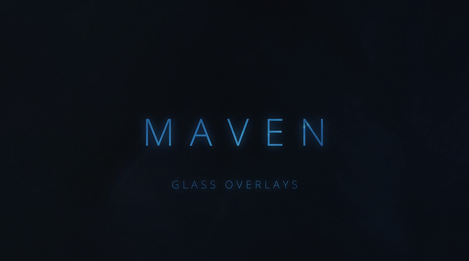 《素材:Maven 4K Lens Distortions -90个4K镜头光斑光晕闪光耀斑玻璃折射视频》