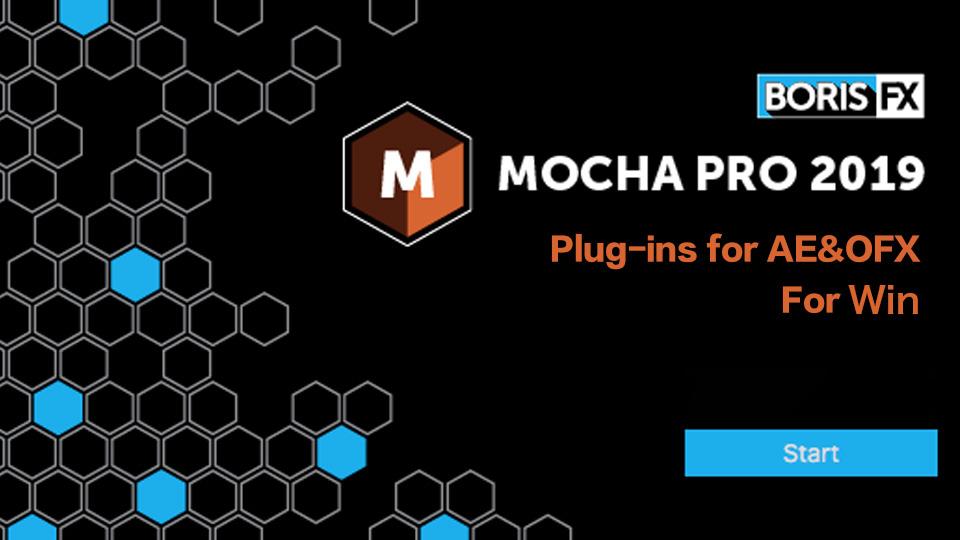 《Win版:Mocha Pro Plugin 2019 for AE PR Nukex OFX_平面跟踪插件》
