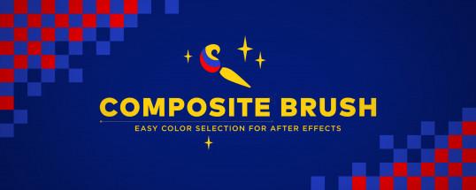 《AE插件:Composite Brush 1.2 _合成笔刷插件_抠像助手_Win&Mac》