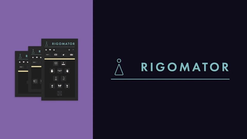 《AE脚本:RIGOMATOR 1.0_人物角色骨骼动作绑定工具+教程》