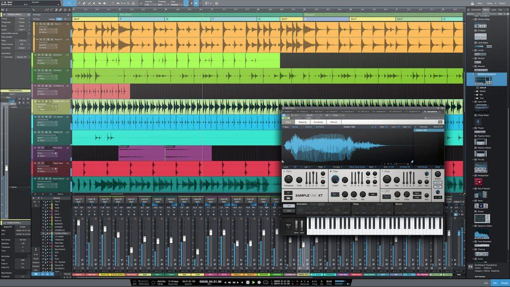《Mac软件:PreSonus Studio One Pro 4.1.2.50657_音乐创作与制作软件》