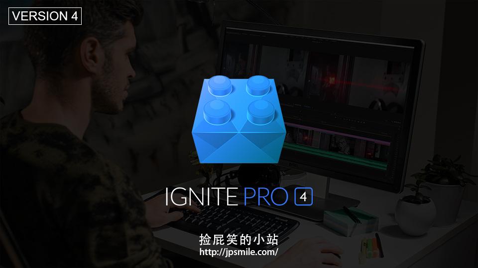 《FXhome Ignite Pro 4.0 特效合成插件套装(含枪火插件) For AE/PR/OFX(For Win)》