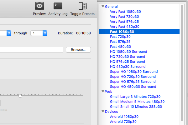 《HandBrake v1.2.0_视频编码压缩转码输出软件_支持Win/Mac/Linux》