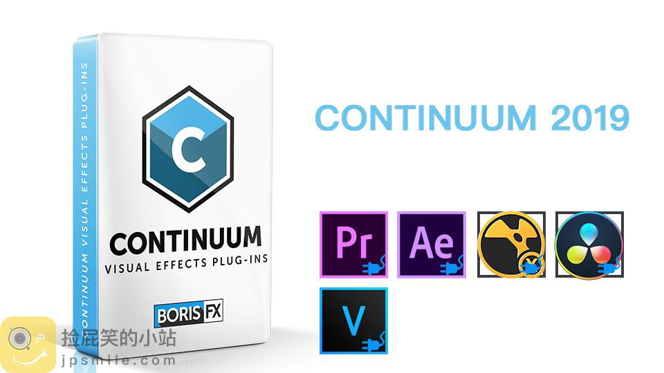 《Win版:Boris Continuum Complete 2019 v12.0.3 For AE/PR/OFX》