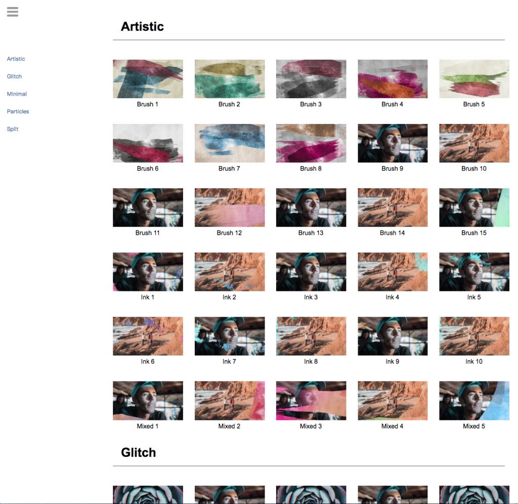 《AE模板:CrispyLayers 1.0 图形套装_超1200个视频预设和素材资产》