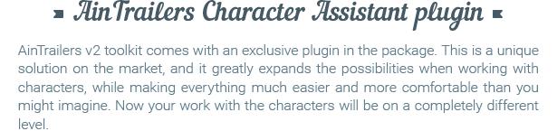 《AE模板:AinTrailers v2.2.3_ 5000+扁平化MG视频解说类工具包+角色动画生成器脚本+使用教程》