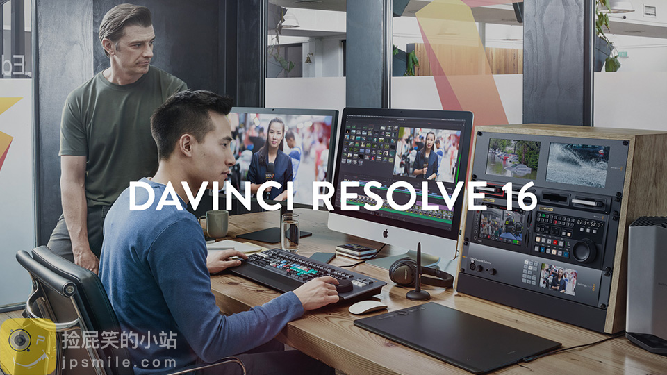 《Davinci Resolve Studio 16.1_达芬奇16.1破解版(Win&Mac)》