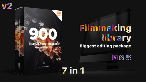《PR预设/模板:Filmmaking Library_Effects Pack_电影制作特效包》