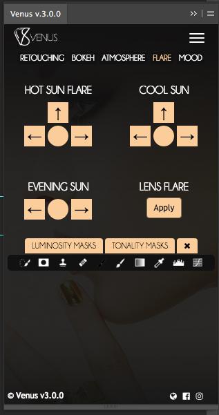 《PS扩展:Venus Retouch Panel 3.0.0_PS修饰润色美白磨皮扩展面板(Win&Mac)》