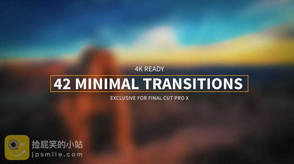 《FCPX插件:42_Minimal_Transitions_42个精致转场过渡效果》