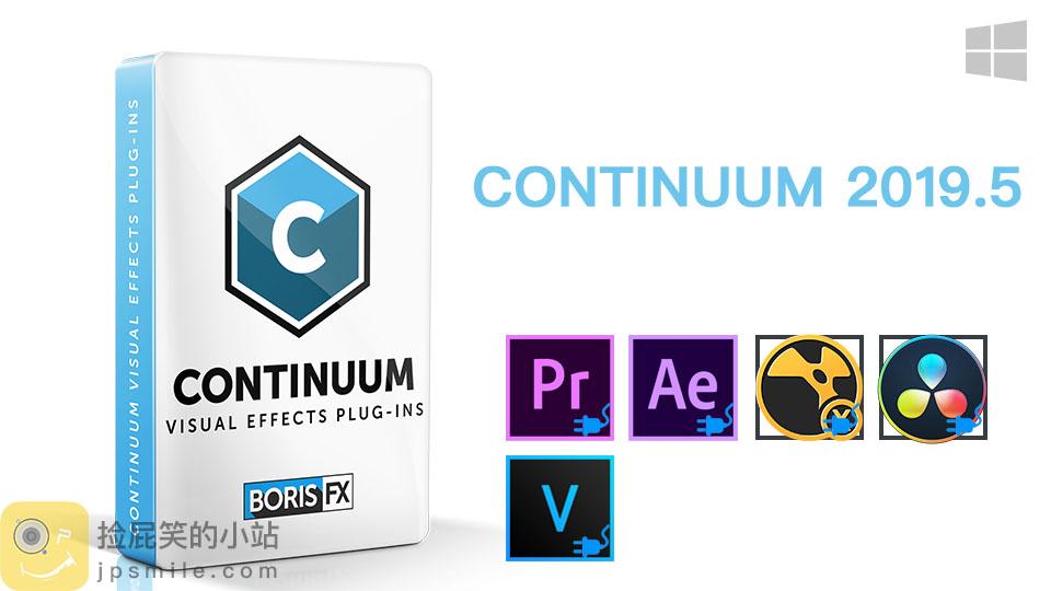 《Win版:Boris Continuum Complete 2019.5 v12.5.1.4558_BCC视频特效及转场套装 For AE/PR/Nukex/ Resolve/VEGAS/OFX》