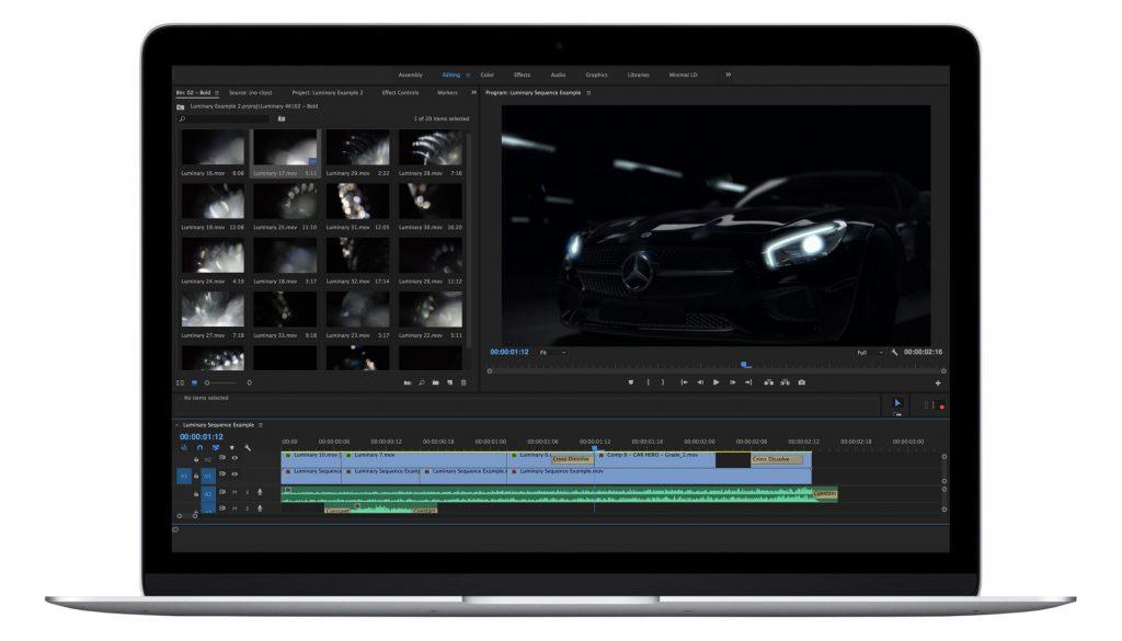 《素材:Luminary 4K|Lens Distortions -75个4K玻璃镜头光斑漏光失焦视频》