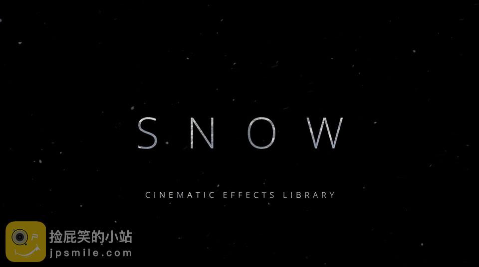 《素材:Snow 4K Lens Distortions -120个4K真实下雪风雪视频》