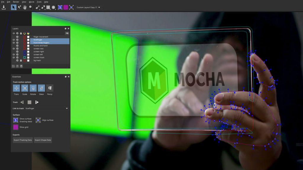 《AE/PR插件:Boris FX Mocha Pro Plug-ins 2019.5 v6.1.1.33_平面跟踪摄像机反求插件( Win版)》