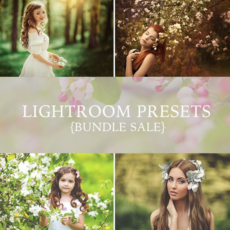 《LR预设:超1500个Lightroom预设套装_附赠拼图模板》