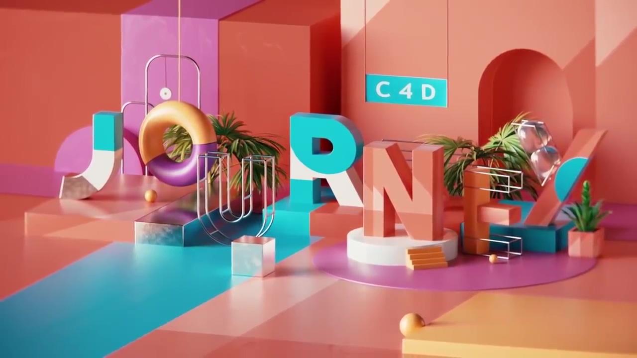 《教程:Cinema 4D Journey _C4D全面入门基础教程_出自motiondesign.school》