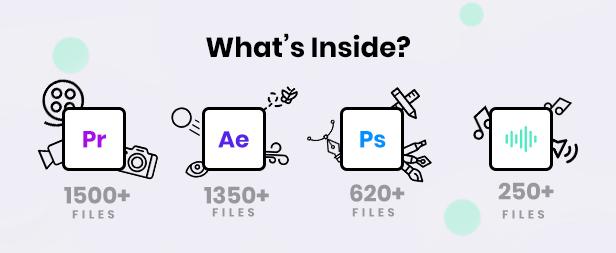 《AE/PR模板:Infinity Tool v2.0_4000+文字图形动画模板(Motion Factory)》