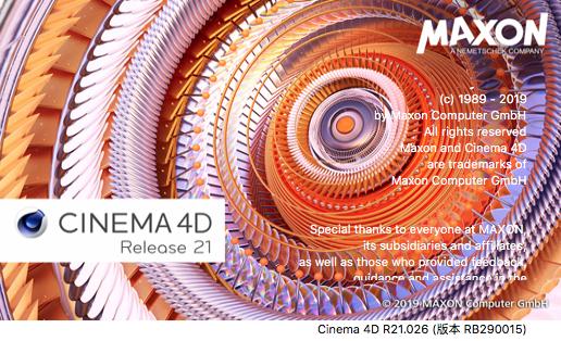 《Maxon CINEMA 4D Studio R21.027/R21.026_三维建模动画软件_中文|英文|多语言版(Win&Mac)》