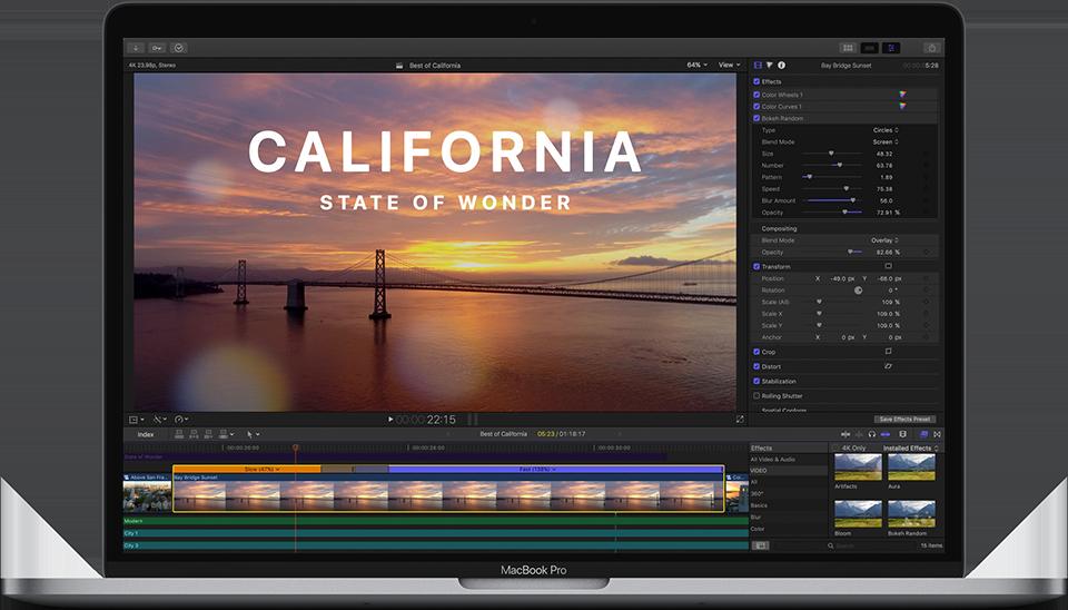 《Mac软件:Apple Final Cut Pro X 10.4.8_FCPX视频剪辑软件》