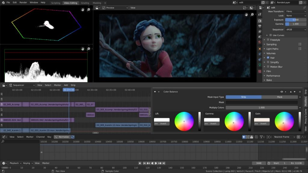 《Blender v2.81a 免费开源且强大的全能三维动画制作软件(Win&Mac&Linux)》