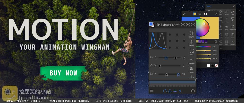 《AE扩展脚本:Mt Mograph Motion 3 v3.2.7 MG运动图形动画控制脚本(Win&Mac)》
