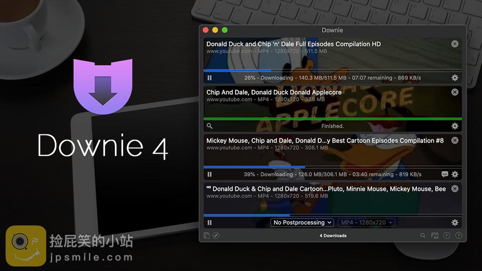《MAC软件:Downie 4.0.4_极致好用的视频下载利器》
