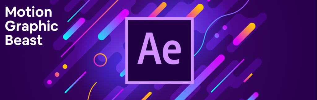 《教程:skillshare - After Effects Motion Graphic Beast AE运动图形基础教程》