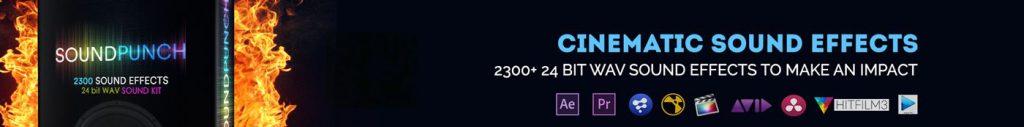 《CINEPUNCH v20 for PR/AE_超9900+个转场过渡|预设|声音包|调色包|工具包|数千个FX特效元素_号称全世界最强大最丰富的特效套装》