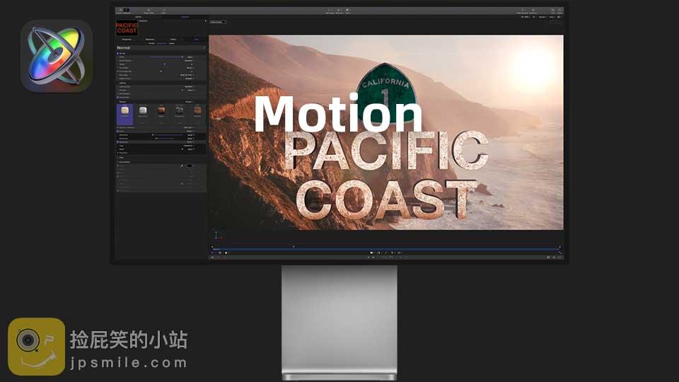 《Mac软件:Apple Motion v5.5 - 运动图形软件》